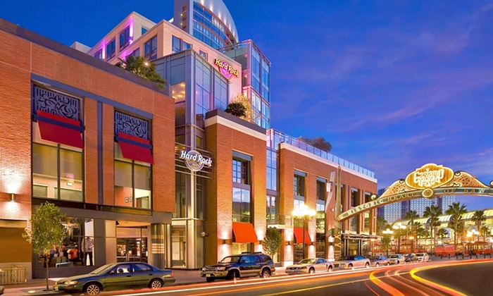 null - San Diego: Stay at Hard Rock Hotel San Diego, With Discounts on Spa Treatments and Dining Credit. Dates Available Into December.