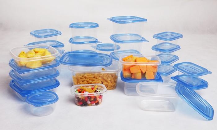 54-Piece Food Storage Set: 54-Piece Food Storage Set. Free Returns.