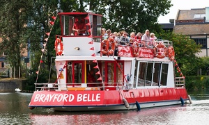 Lincoln Boat Trips: Brayford Belle: Lincoln Boat Trip from £4.50 (Up to 50% Off)