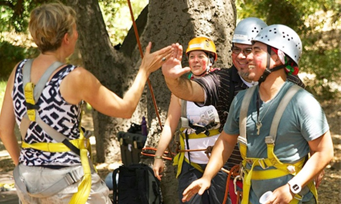 Fulcrum Adventures - Jefferson: Three-Hour Ropes Challenge Course for One or Two at Fulcrum Adventures