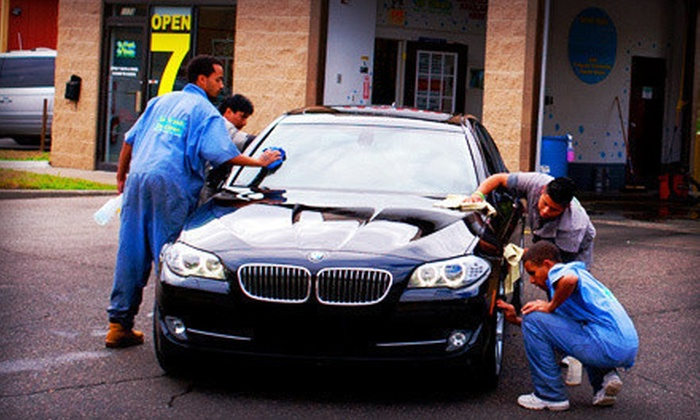 So Fresh & So Clean - Multiple Locations: $12 for an Inside and Out Hand Car Wash at So Fresh & So Clean (Up to $25 Value)