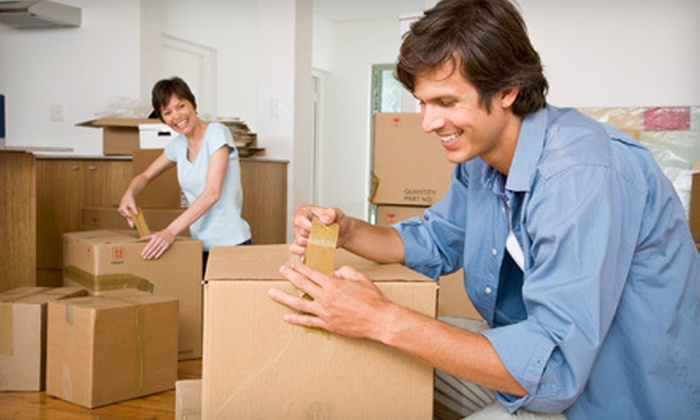 Spade Moving - Los Angeles: $275 for Four Hours of Moving with Two Movers and a 26-Foot Truck from Spade Moving ($580 Value)
