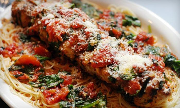Garozzo's Ristorante - Multiple Locations: $10 for $20 Worth of Italian Food at Garozzo's Ristorante