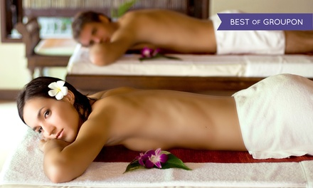 60-Min. Massage, Massage with Sugar Scrub & Body Butter, or 60-Min. Couples Massage at Chi Spa (Up to 47% Off)