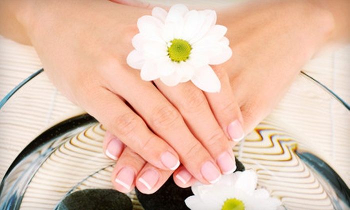 Hair Art & Co - J.J. Pearce: One or Three CND Shellac Manicures at Hair Art & Co (Up to 59% Off)
