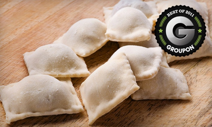 The Ravioli Shop - Multiple Locations: $7 for $15 Worth of Ravioli and Sauces at The Ravioli Shop