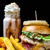 Burger, Fries and Drink for Two