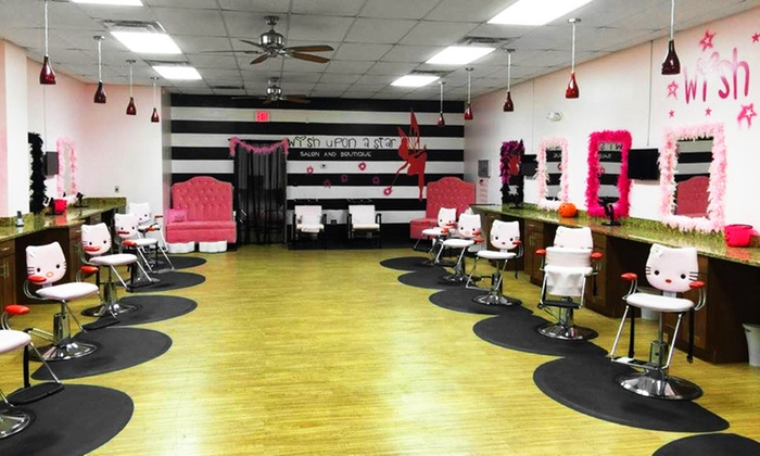 kids 39 spa packages wish upon a star kids salon