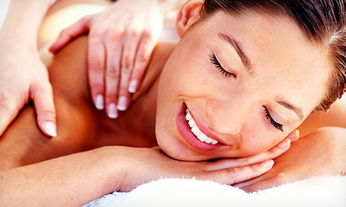 Massage + Yoga Center - Wells Branch: $58.75 for a 90-Minute Total Stress-Reduction Massage at Massage + Yoga Center ($110 Value)