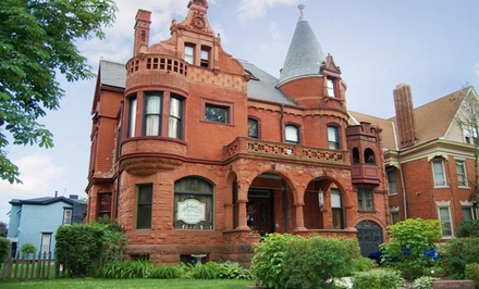 Groupon Deal: 2-Night Stay for Two with a Bottle of Wine at Schuster Mansion Bed & Breakfast in Milwaukee