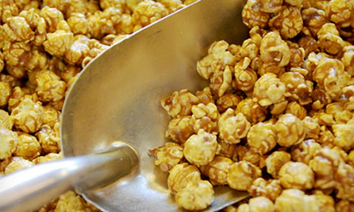 Cassie's Le Popcorn: Gourmet Popcorn at Cassie's Le Popcorn (50% Off). Two Options Available.