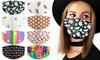 Unisex, multi-kleuren gezichtsmaskers