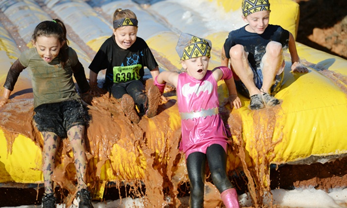 Mud Factor Kidz - Glen Helen Raceway: $20 for Obstacle-Course Mud Run for One Kid from Mud Factor Kidz on April 26 ($40 Value)