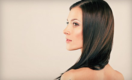 Women's Haircut with Shampoo and Blow-Dry (a $55 value) - Red Label Hair Company in Toronto