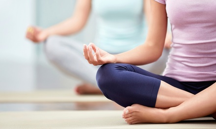 10 Drop-In Yoga Classes or One Month of Unlimited Yoga Classes at Ganesha's Yoga and Wellness (Up to 71% Off)