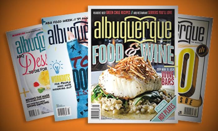 """""""Albuquerque The Magazine"""" - Albuquerque: $14 for a Two-Year Subscription to """"Albuquerque The Magazine"""" ($28 Value)"""