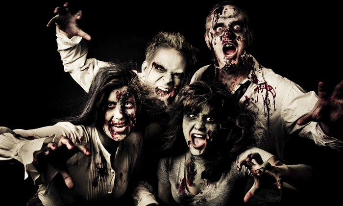 Citrine Entertainment - Bar Louie: Registration to the West Palm Beach Zombie Pub Crawl for One or Two on Friday, October 24 (Up to 55% Off)