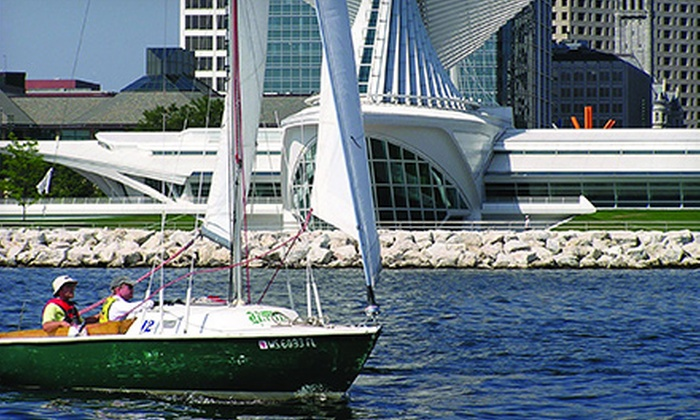 Milwaukee Community Sailing Center - Lake Park: $59.99 for a Two-Hour Semiprivate Intro to Sailing Class at Milwaukee Community Sailing Center ($150 Value)