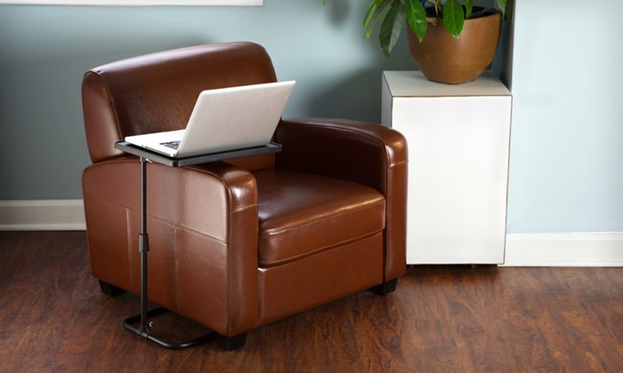 Awesome Adjustable Swivel Laptop Desk: $19.99 For A ThinkTank Technology Adjustable  Swivel Laptop Desk ($39.99 ...