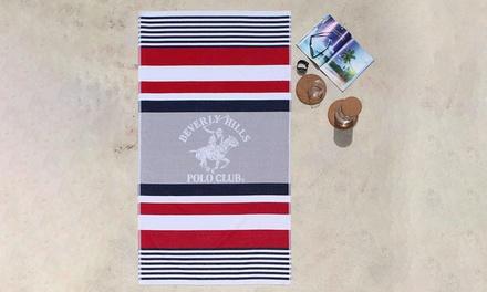 Toallas de playa de Jacquard con diseños bordados de BHPC 100% algodón