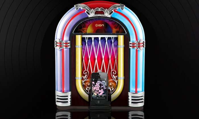 ION Jukebox Dock for iPad, iPhone, and iPod: ION Jukebox Dock for iPad, iPhone, and iPod. Free Shipping and Returns.