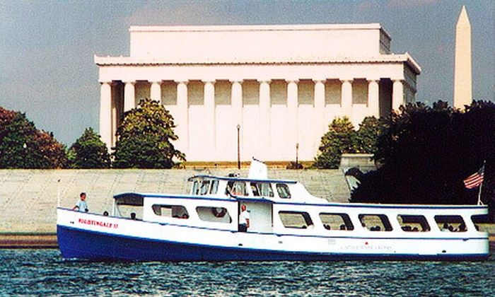 Capitol River Cruises - Georgetown: Potomac River Boat Tour for Two, Four, or Six with Capitol River Cruises (Up to 52% Off)