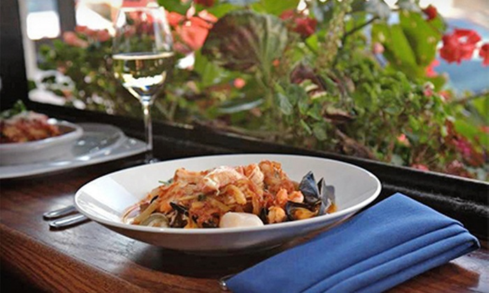 Blue Grotto - Providence: Three-Course Italian Dinner for Two, Four, or Six at Blue Grotto (Up to 53% Off)