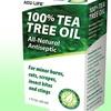 Bottle of 100% Tea Tree Oil