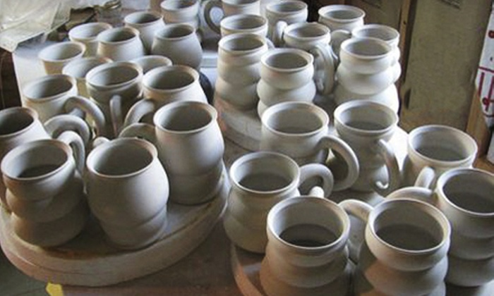 Clay Owen Studios - Taku / Campbell: Pottery Class for One or Two, a Mug-Making Class, or a Yarn Bowl-Making Class at Clay Owen Studios (Up to 57% Off)