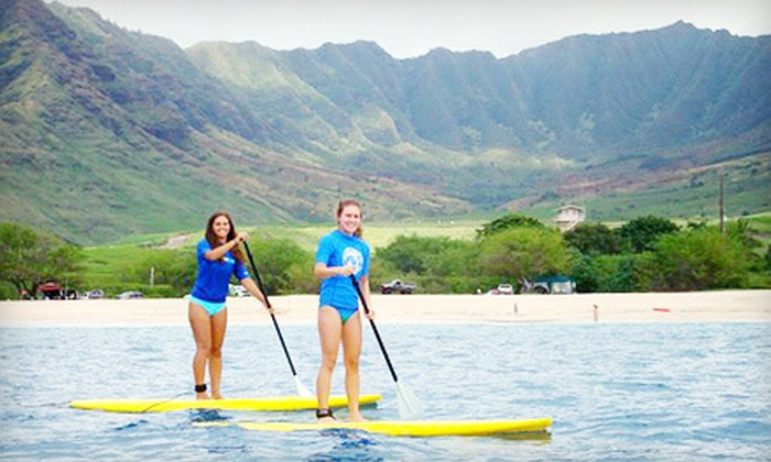 West Oahu SUP - Waianae: Full-Day Paddleboard or Kayak Rental or One-Hour Surf or SUP Lesson at West Oahu SUP in Waianae (Up to 51% Off)