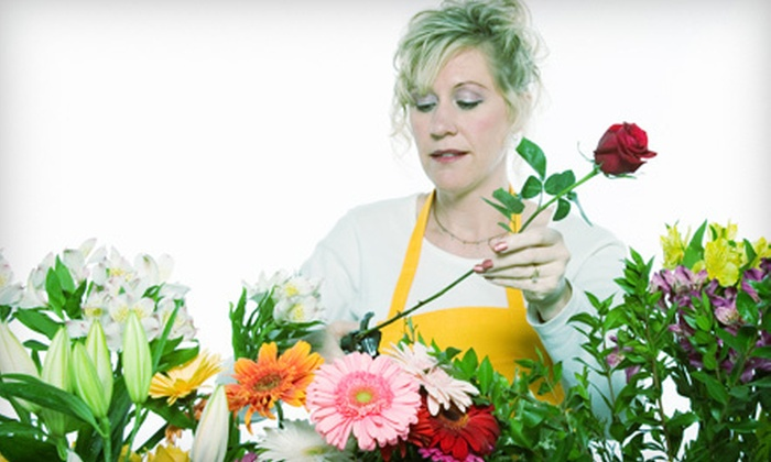 In Water - Mission Bay: Flower-Arranging Class for One or Two at In Water (Up to 55% Off)