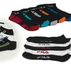 12-Pack of Fila Men's No-Show Socks