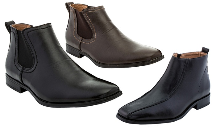 Adolfo Men's Slip-on Boots - Adolfo Charles or Lex Men's Slip-on ...