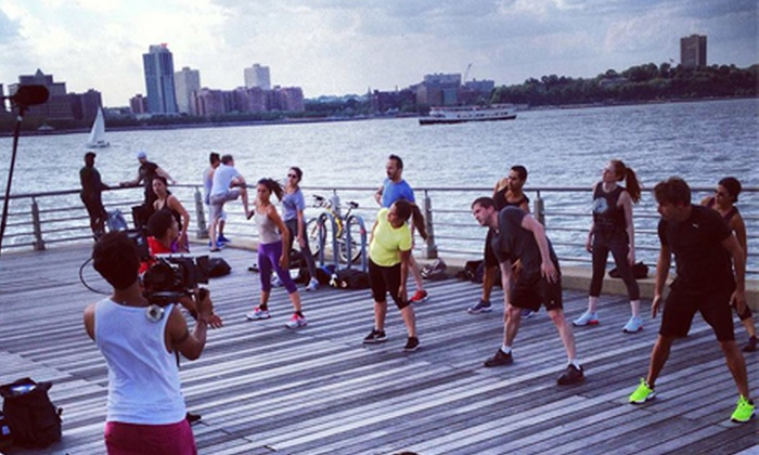 Swedish Challenge NYC - Bowery: $95 for a One-Month of Boot-Camp Classes at Swedish Challenge NYC ($240 Value)