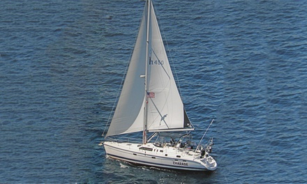 Semi-Private Cruise for Two or Private Cruise for Up to Six from Charade Sailboat Charters (Up to 52% Off)