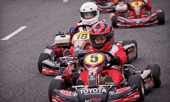kartSTART.ca - Dieppe: $59 for a Go-Karting Package with Rental Equipment and Food from kartSTART.ca ($250 Value). Three Dates Available.