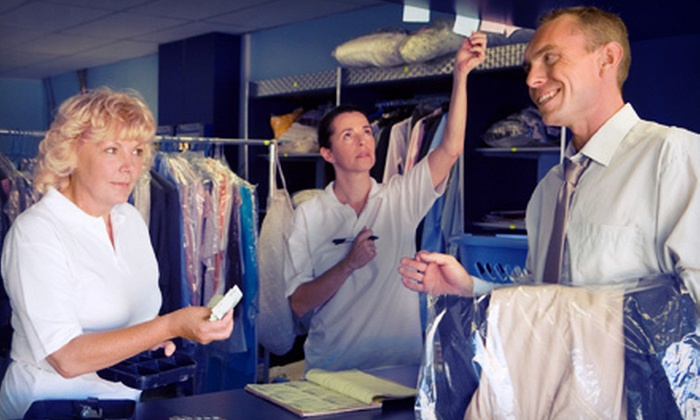 Twin City Dry Cleaners - Twin City Dry Cleaners: Dry-Cleaning and Laundry Services at Twin City Dry Cleaners in Old Saybrook (Half Off). Two Options Available.