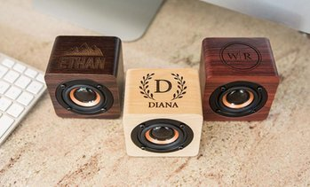 Up to 71% Off Personalized Bluetooth Speaker from Qualtry