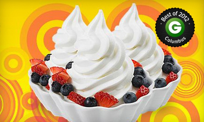 Bad Frog Frozen Yogurt - Dublin: $4 for $8 Worth of Frozen Yogurt at Bad Frog Frozen Yogurt