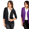 3-Pack of Women's V-Neck Button-Down Cardigans
