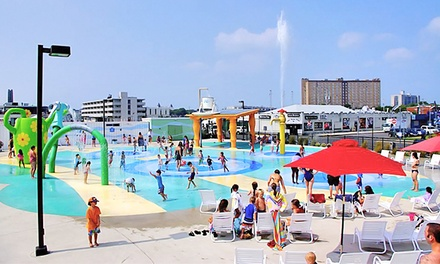 Mini Golf, Water-Park Visit, or Both for Two Adults and Two Kids at Asbury Park Boardwalk (Up to 75% Off).