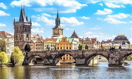 Praga: habitación doble estándar para 2 personas con desayuno en el Hotel Atos de Praga