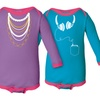 Kidteez Infant Girls' Long-Sleeve Bodysuit