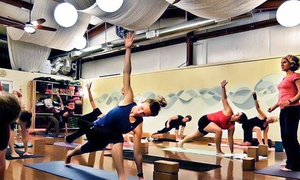 Asheville Community Yoga: $39 for 10 Yoga, Men's Beginning-Yoga, or Women's Expressive-Dance Classes at Asheville Community Yoga ($100 Value)