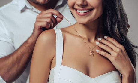 Collar con inicial Ah! Jewellery