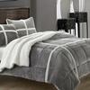 3-Piece Micro-Mink to Sherpa Reversible Comforter Set