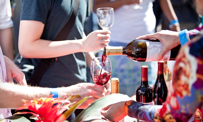 Ghirardelli Square Uncorked Wine Festival - Fisherman's Wharf: General or VIP Admission to Ghirardelli Square Uncorked Wine Festival on May 9 (Up to 52% Off)