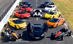 Gift Experience SA: Killarney Racing Circuit: Supercar Driving Experience for One from R2 399 (50% Off)