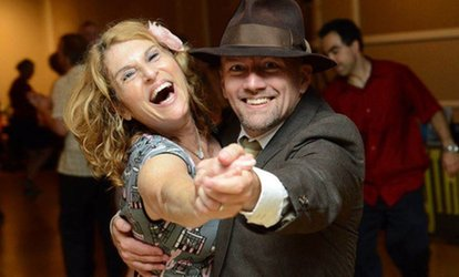 One Swing <strong>Dance</strong> Night, Four-Week Swing <strong>Dance</strong> Class, or Both at Rusty's Rhythm Club (Up to 61% Off)