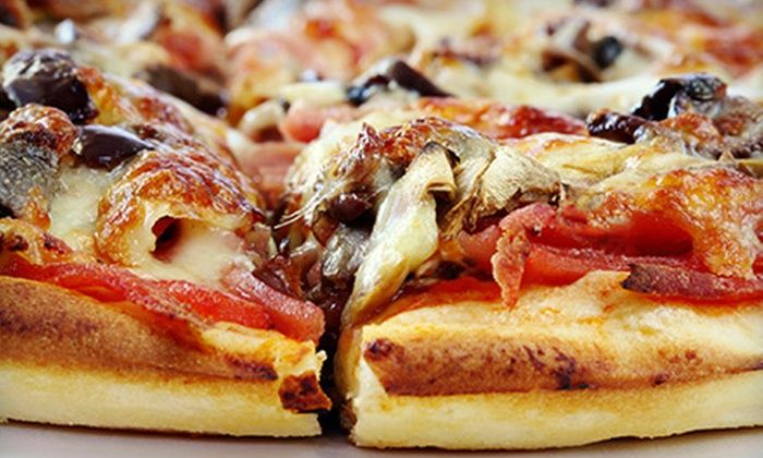 San Francisco Pizza - Multiple Locations: Pan, Deep-Dish, and Specialty Pizzas at San Francisco Pizza (Half Off). Two Options Available.